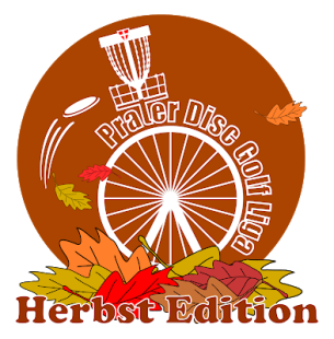 Prater Disc Golf Liga Logo Herbst